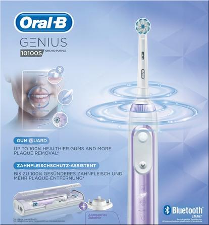 Oral-B (Braun) El-tandbørste Genius 10100S Orchid Purple