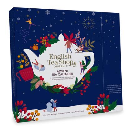 English Tea Shop Julekalender Økologisk Blå