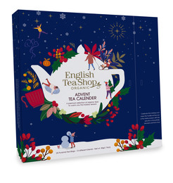 English Tea Shop Julekalender Økologisk Blå