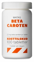 Matas Striber Beta Caroten 100 tabl.