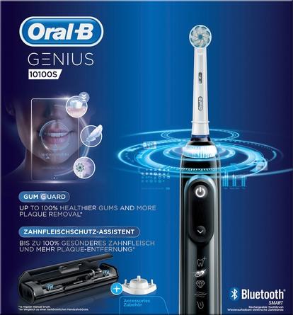 Oral-B El-tandbørste Genius 10100S Black