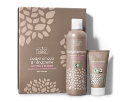 Matas Natur Bodyshampoo og Håndcreme Gaveæske
