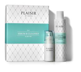 Plaisir Gaveæske Serum og 3in1 Cleanser Gaveæske