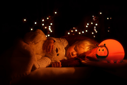Lumie Bedbug Vågelampe til børn