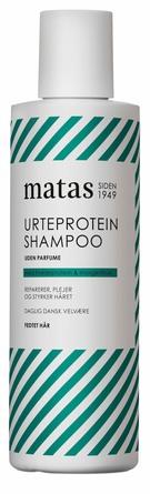 Matas Striber Urteprotein Shampoo til Fedtet Hår Uden Parfume 250 ml