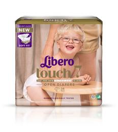 Libero Touch Str. 7 34 stk.
