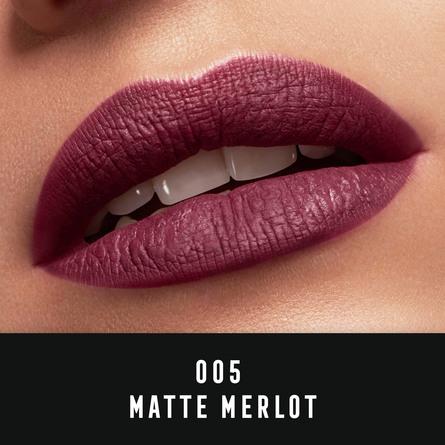 Max Factor Lipfinity velvet matte 005 merlot