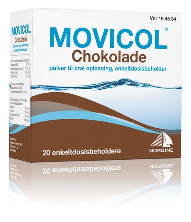Movicol Chokoladepulver til Oral Opløsning 20 breve