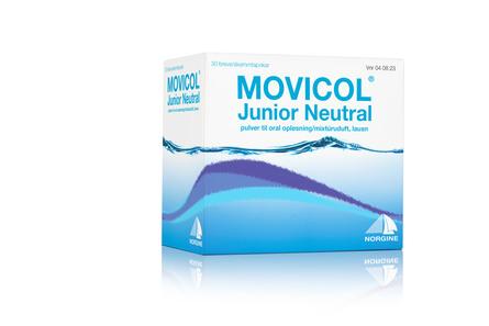Movicol Neutral Pulver Junior til Oral Opløsning 30 breve