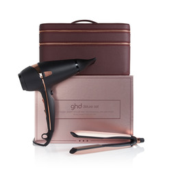 GHD Deluxe Gavesæt Rose Gold