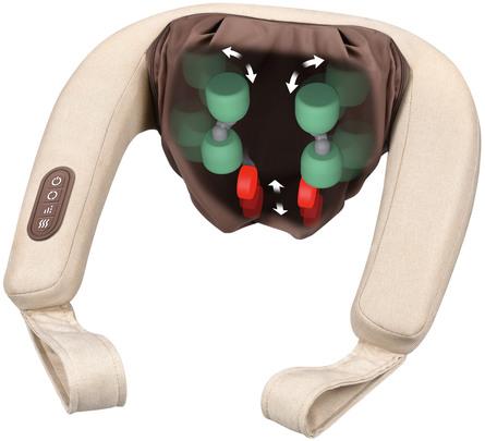 Beurer 4D Massageapparat til nakke, skuldre og lænd MG 153