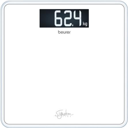Beurer Signature Line Glasvægt Hvid GS 400