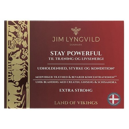 Jim Lyngvild Stay Powerful 60 tabl.