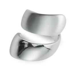 Pilgrim Ring Alma Silver Plated