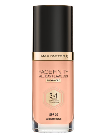 Max Factor All Day Flawless 3 in1 Foundation 32N Light beige