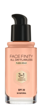 Max Factor All Day Flawless 3 in 1 Foundation 50 Natural