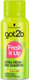 Schwarzkopf Got2b Dry Shampoo Fresh it Up extra Fresh 100 ml
