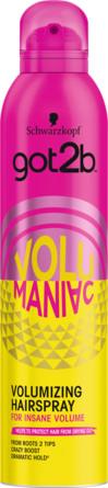 Schwarzkopf Got2b Volumaniac Bodifying Spray 300 ml 300 ml