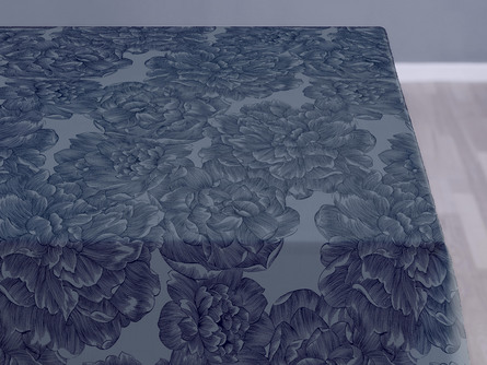 Södahl Dug Modern Rose China Blue 140 x 180 cm