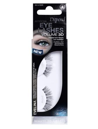Depend Kunstige Øjenvipper 3D-effekt Evelina