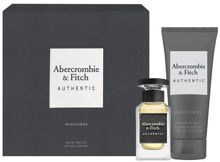 Abercrombie & Fitch Authentic Man Gaveæske