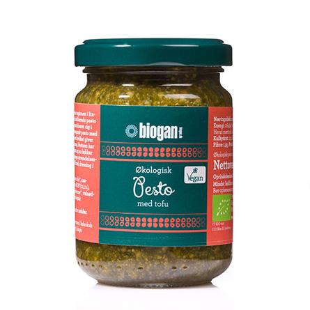 Biogan Pesto grøn Ø Vegan 120 g