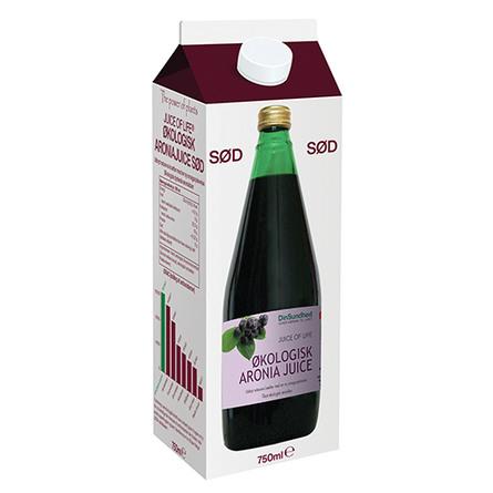 Livets frugt Aronia saft sød Ø 700 ml
