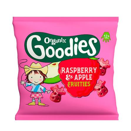 Goodies hindbær & æble Ø 12 g