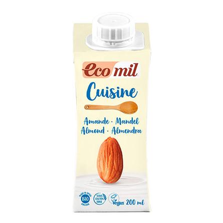 Mandel fløde cuisine Ø Ecomil 200 ml