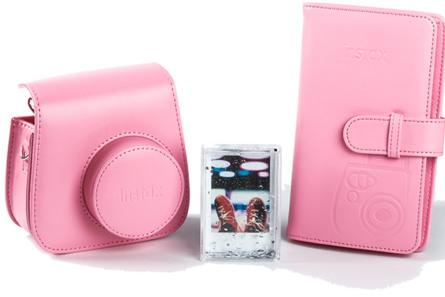 Instax Mini9 tilbehørskit Falmingo Pink