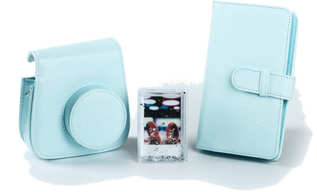 Instax Mini9 tilbehørskit Ice Blue