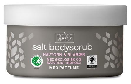 Matas Natur Havtorn & Blåbær Saltscrub 200 g