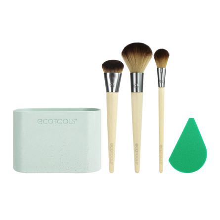 Ecotools Airbrush Penselsæt Complexion Kit