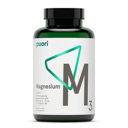 Puori M3  Magnesium Vegan 120 kaps.