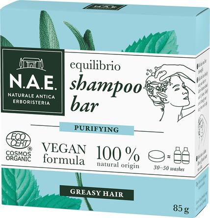 N.A.E. Equilibrio Purify Shampoobar 85 g
