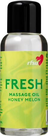 RFSU Fresh Massage Oil Honey Melon 100 ml