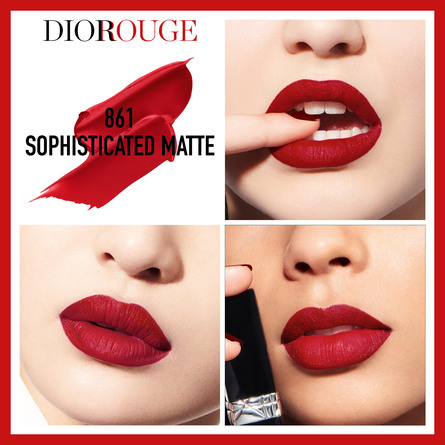 ROUGE DIOR  COUTURE COLOUR LIPSTICK – COMFORT & WE 861 SOPHISTICATED MATTE