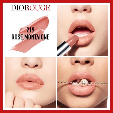 DIOR Rouge Dior 219 Rose Montaigne 219 Rose Montaigne