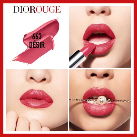 DIOR Rouge Dior 663 Désir 663 Désir