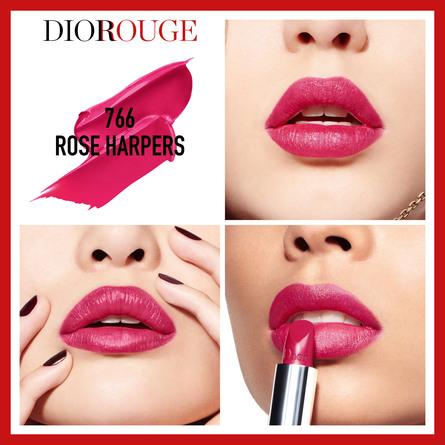 DIOR Rouge Dior 766 Rose Harpers 766 Rose Harpers
