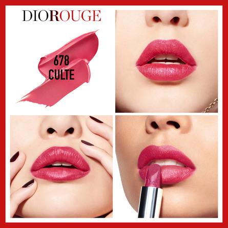 DIOR Rouge Dior 678 Culte 678 Culte