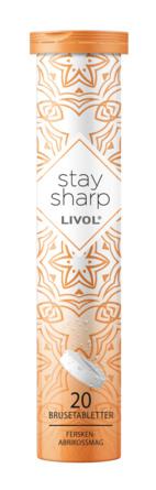 Livol Stay Sharp 20 brusetabletter