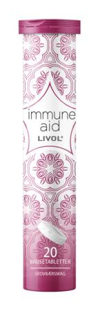 Livol Immune Aid 20 brusetabletter