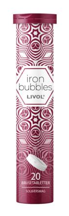 Livol Iron Bubbles 20 brusetabletter