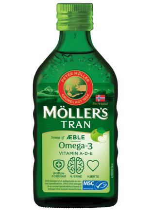 Møllers Tran m/æble 500 ml