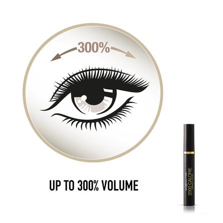 Max Factor Mascara 2000 Calorie 01 Black