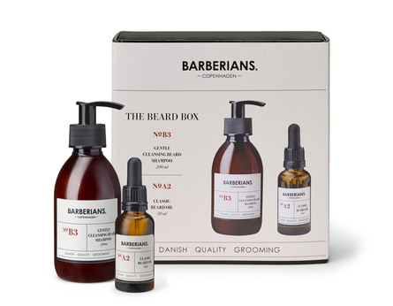 Barberians cph Beard Box Shampoo+ Beard Oil