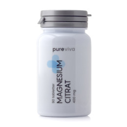 Pureviva Magnesium Citrat 400 mg 90 tabl.