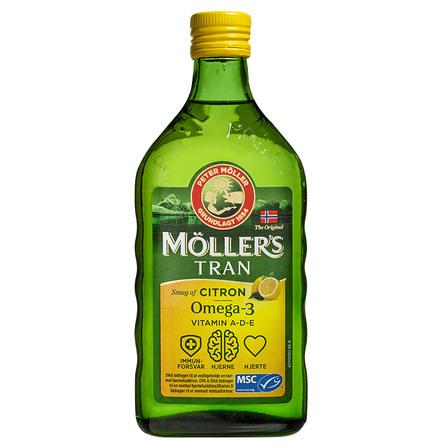 Møllers Tran m/citrus 500 ml