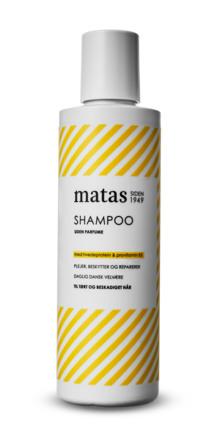 Matas Striber Shampoo til Tørt og Beskadiget Hår Uden Parfume 250 ml